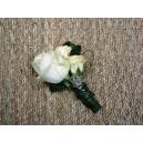 Boutonnière double Rose