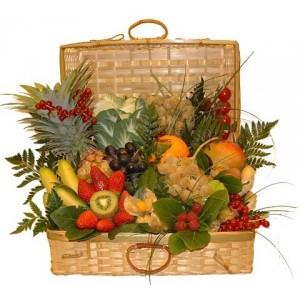 Magnifique Panier de Fruits