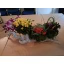 composition atelier floral