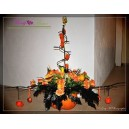 composition haloween atelier floral
