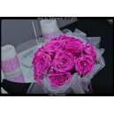 bouquet stabilisé lumière