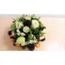 composition fruit et fleurs