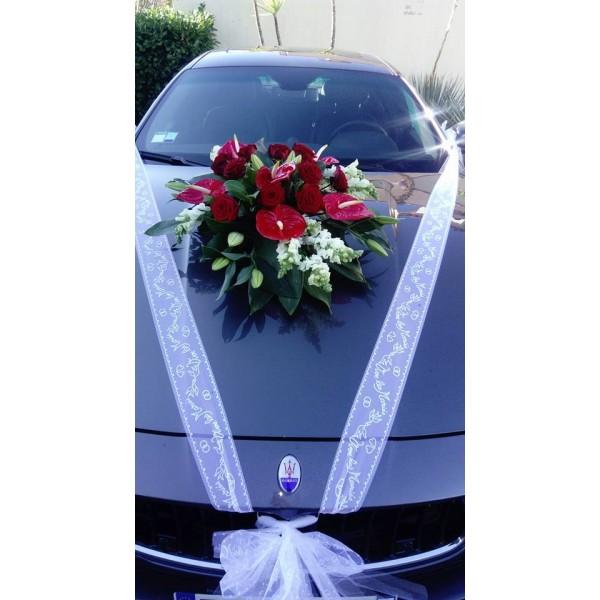 Decoration Voiture Mariage Stessy Fleurs