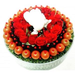 gateau de fleurs