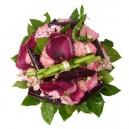 bouquet exotique scintillant